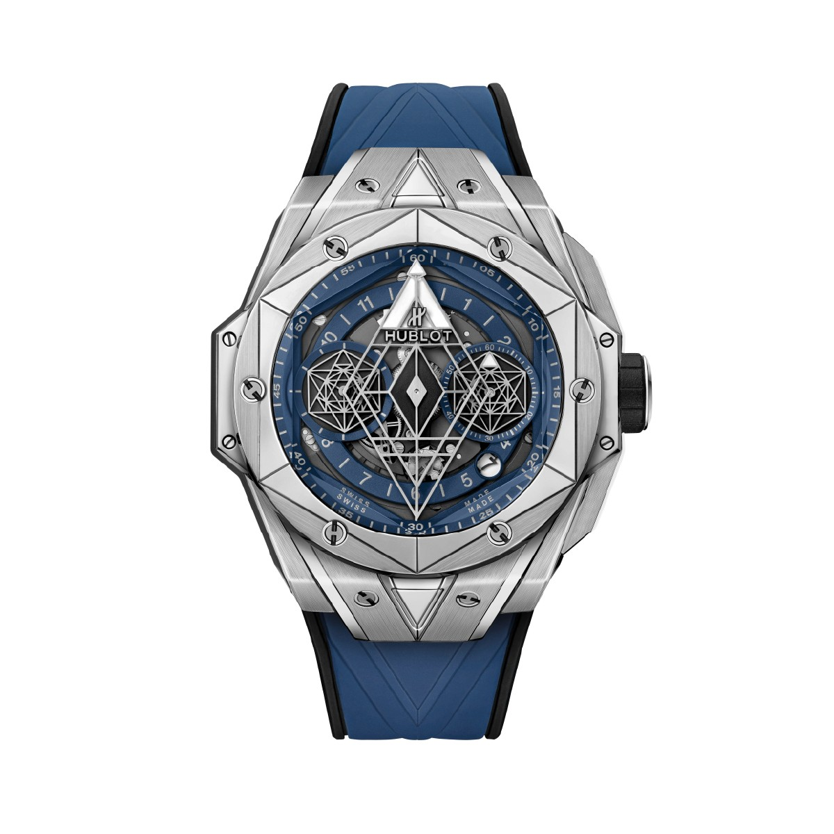 Hublot Uhr Big Bang Sang 2 Unico Titanium Blue