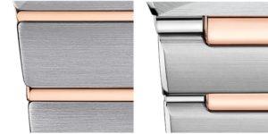 Altes und neues Manhattan Modell im vergleich: das Armband