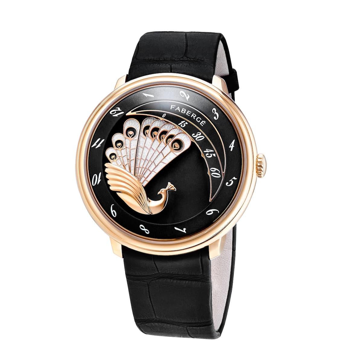 Produkt WA Lady Compliquée Rose Gold Black Peacock