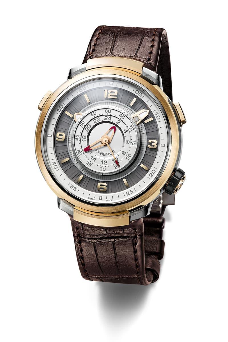 Produkt Fabergé Visionnaire Chronograph Rose Gold