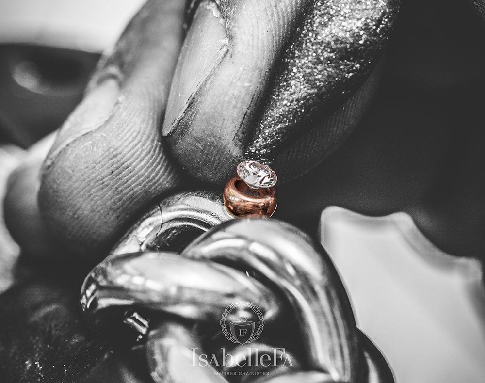 diamanten ring von isabelle fa