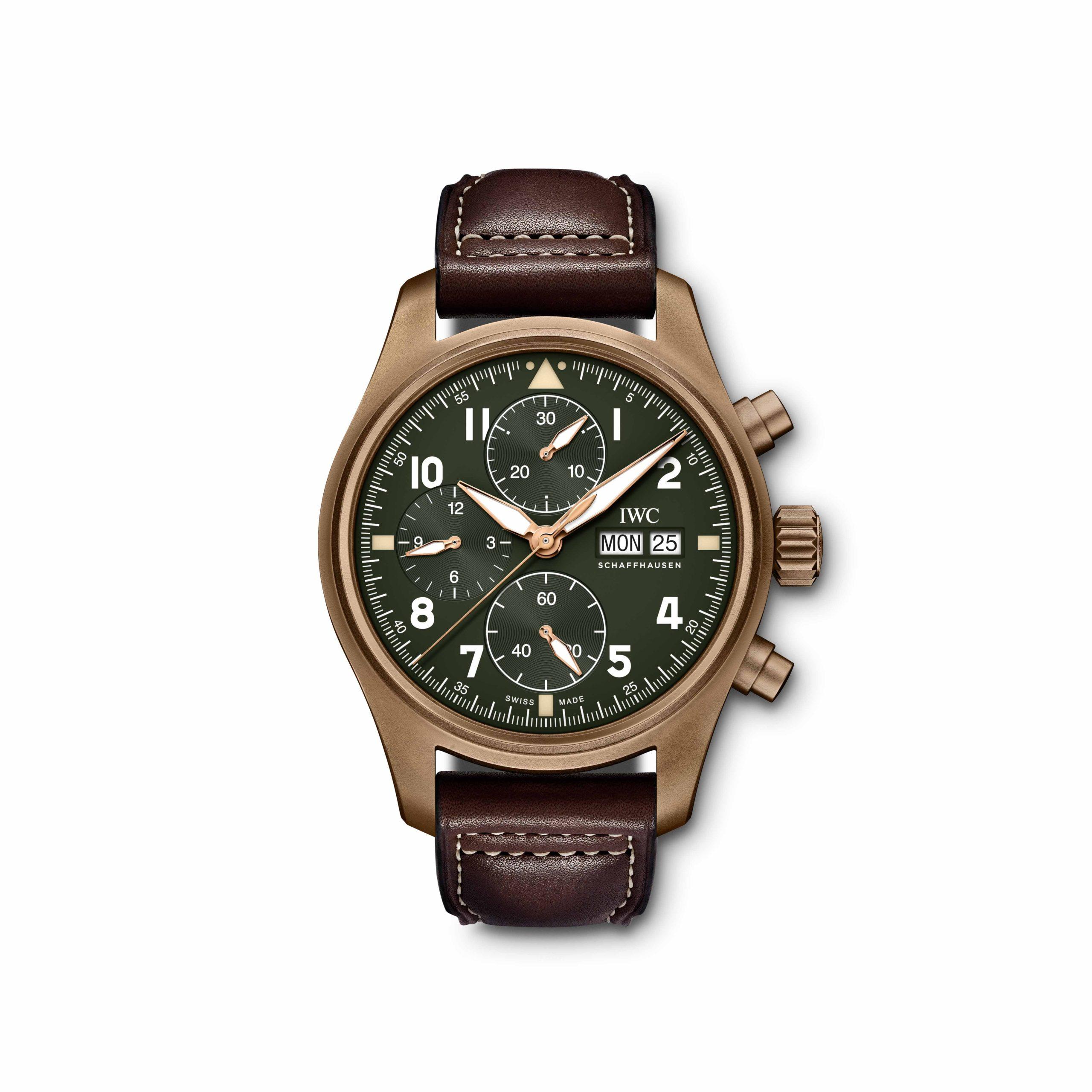 IW38790, Braun-Grüne Uhr von der Marke IWC