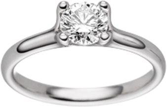verlobungsring mit diamant von hs